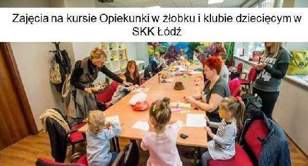 Kurs Opiekun W żłobku I Klubie Dziecięcym / Skk łódź