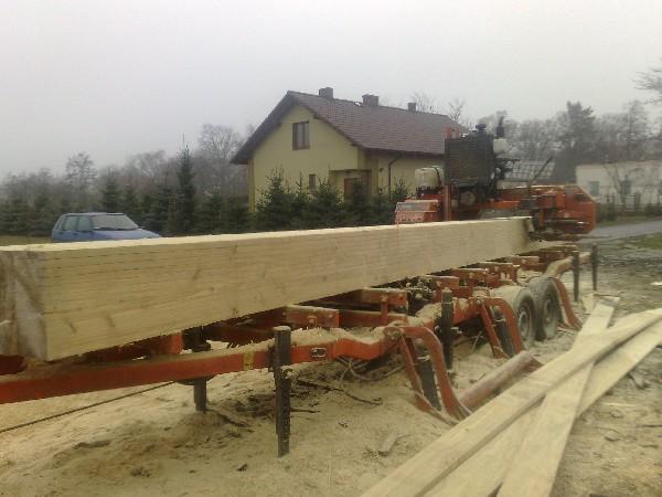 Tartak Objazdowy Spalinowy,przecieranie Drewna Na Terenie Całej Polski 4